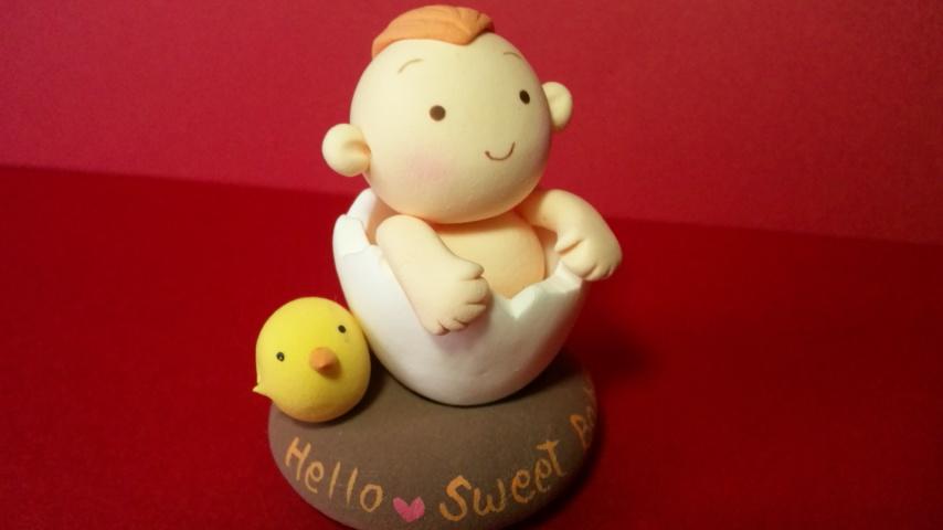 卵から生まれた赤ちゃん
