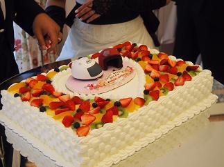 ウエディングケーキの飾り(オーダー)